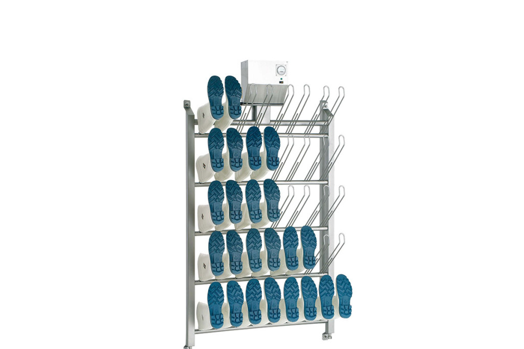 Storage Air Dry boot and clog drying panel