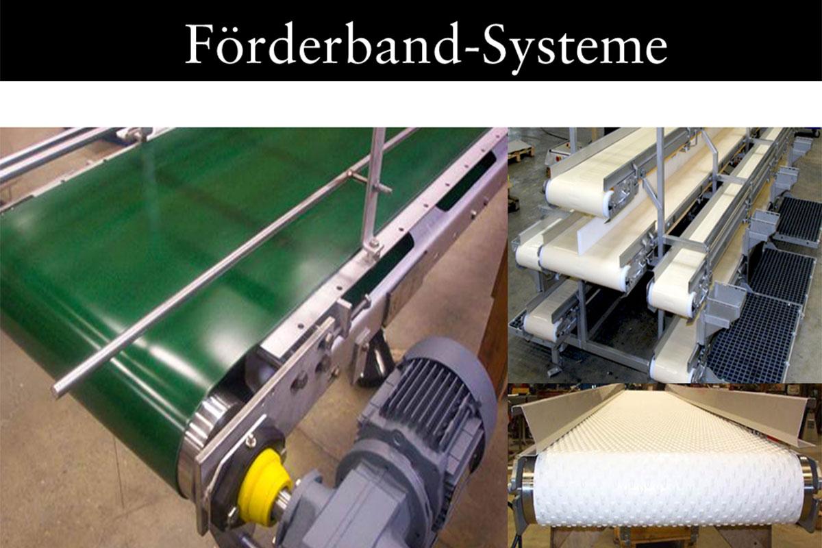 Materials handling technology Conveyor belt system