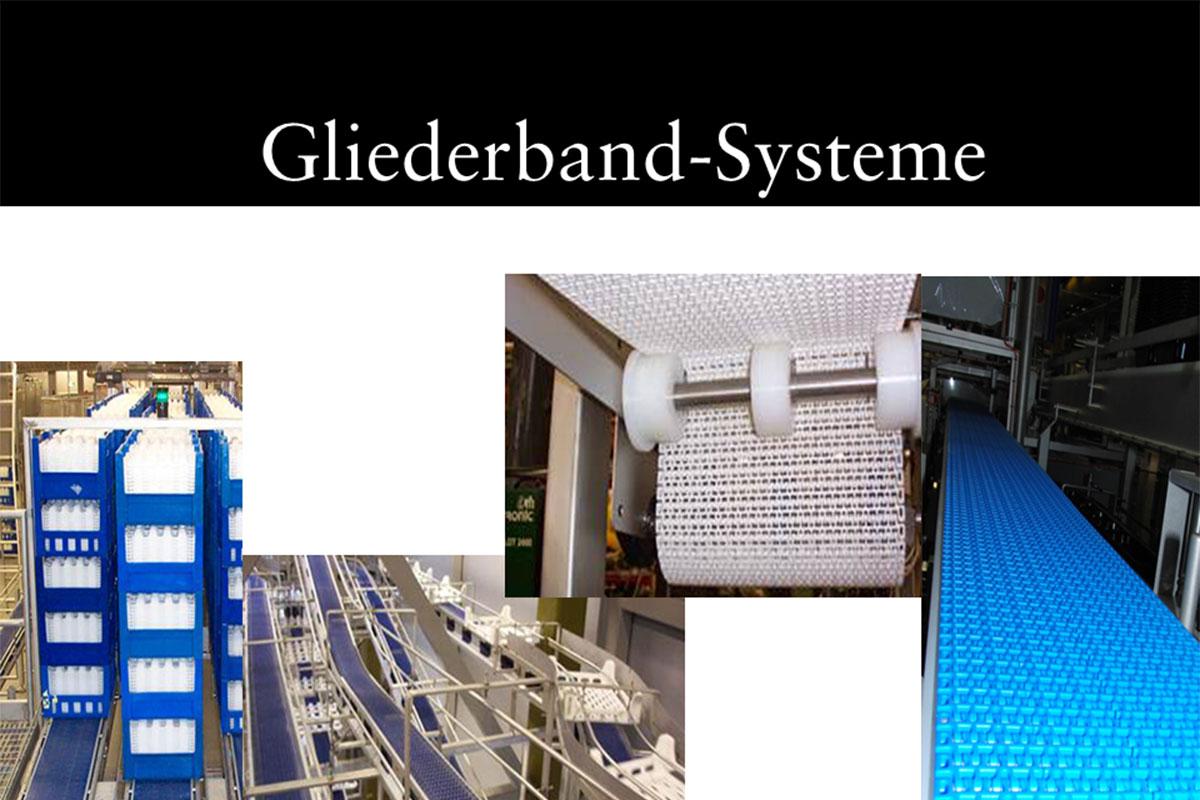 Materials handling technology Link conveyor system