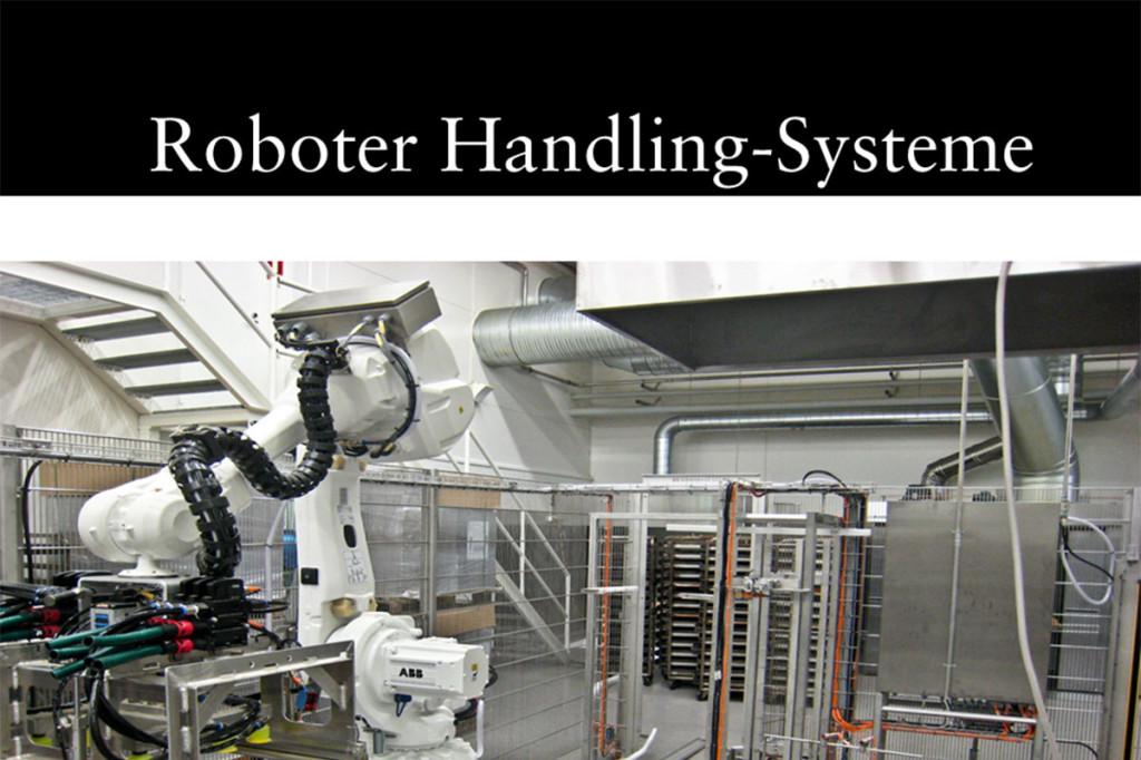 Materials handling technology Robot handling system