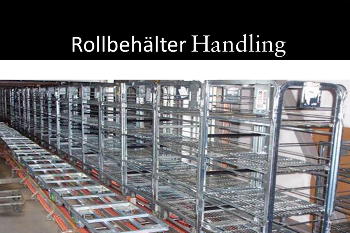 Materials handling technology Roller box handling
