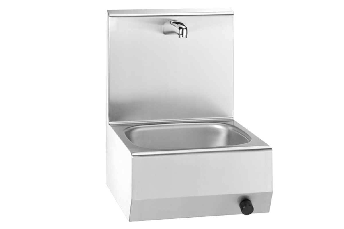 Hand wash sink Type 20520 W with knee switch activation
