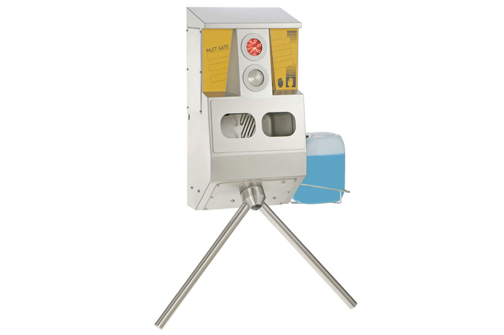 Monitored hand wash Inlet Gate Type 23742