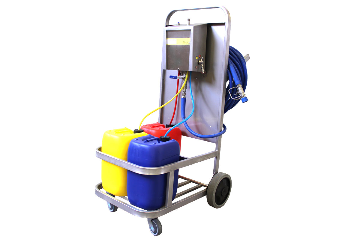 Mobile cleaning system Mobile satellite