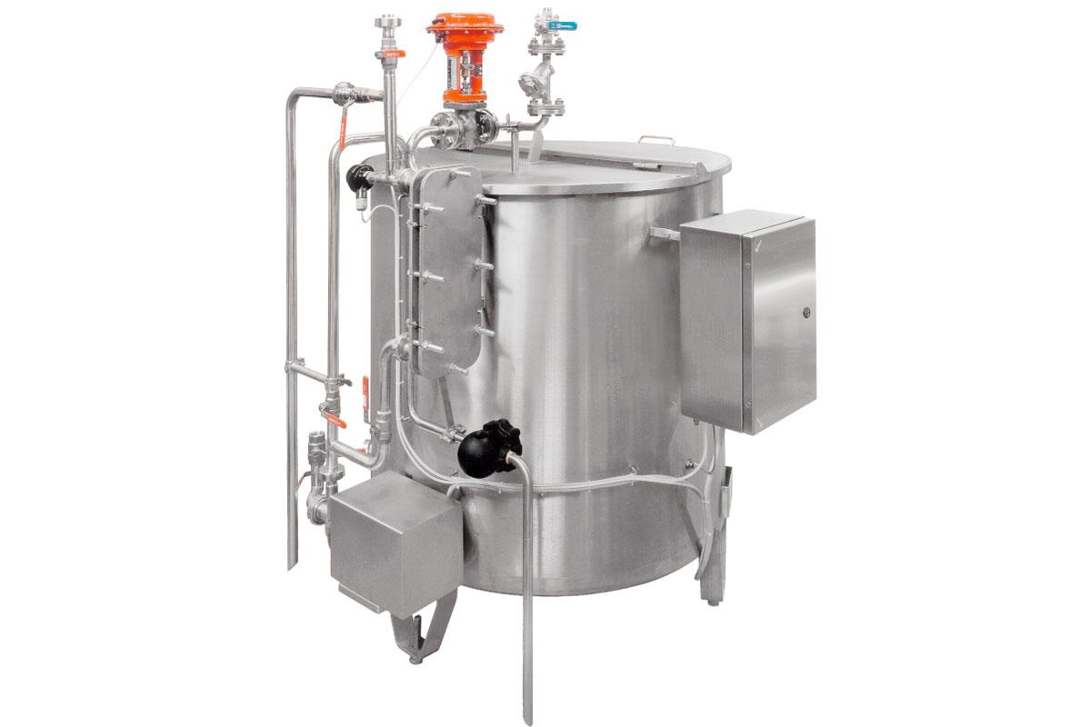 Mozzarella production Special machines Liquid salter
