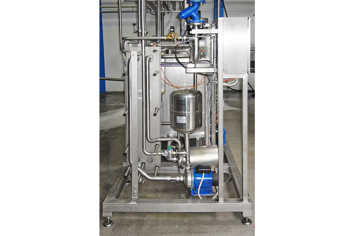 Mozzarella production Special machines Process water maker
