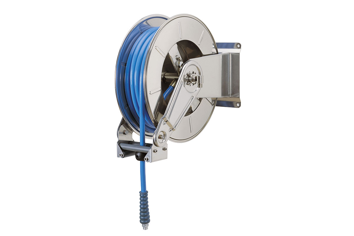 Hose reels and hoses AV 3500, retractable