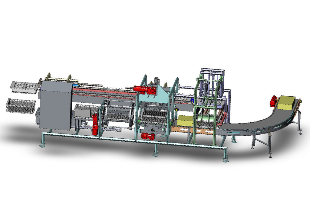 Semi-hard cheese production Moulding device