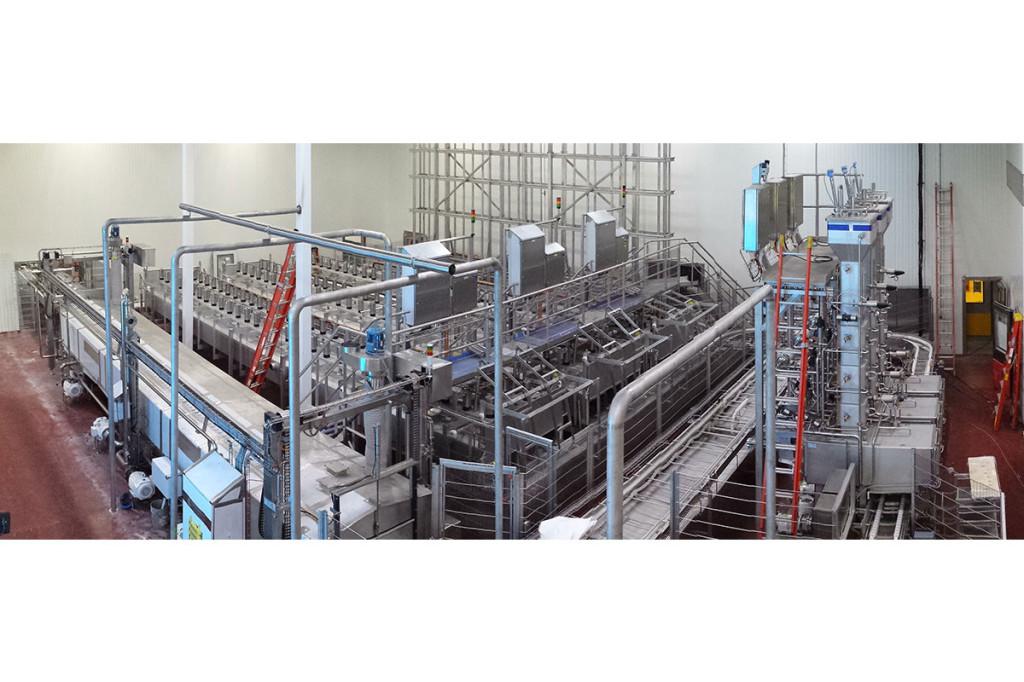 Semi-hard cheese production Closed press USDA
