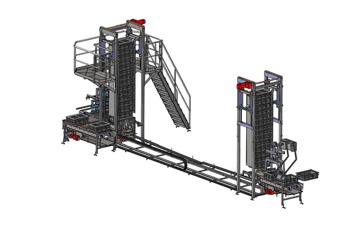 Semi-hard cheese production Ripening storage
