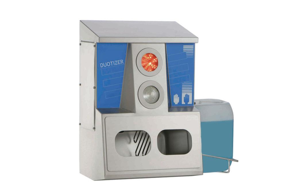 Soap dispenser/automatic disinfectant dispenser Duotizer Type 23701