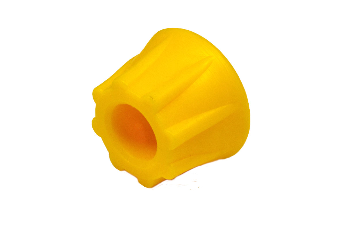 Düsenschutz gelb