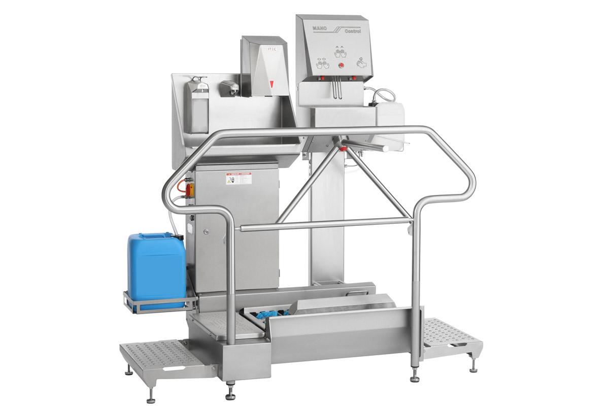 Hygienestation Typ 23876-800 with Turbo Trock