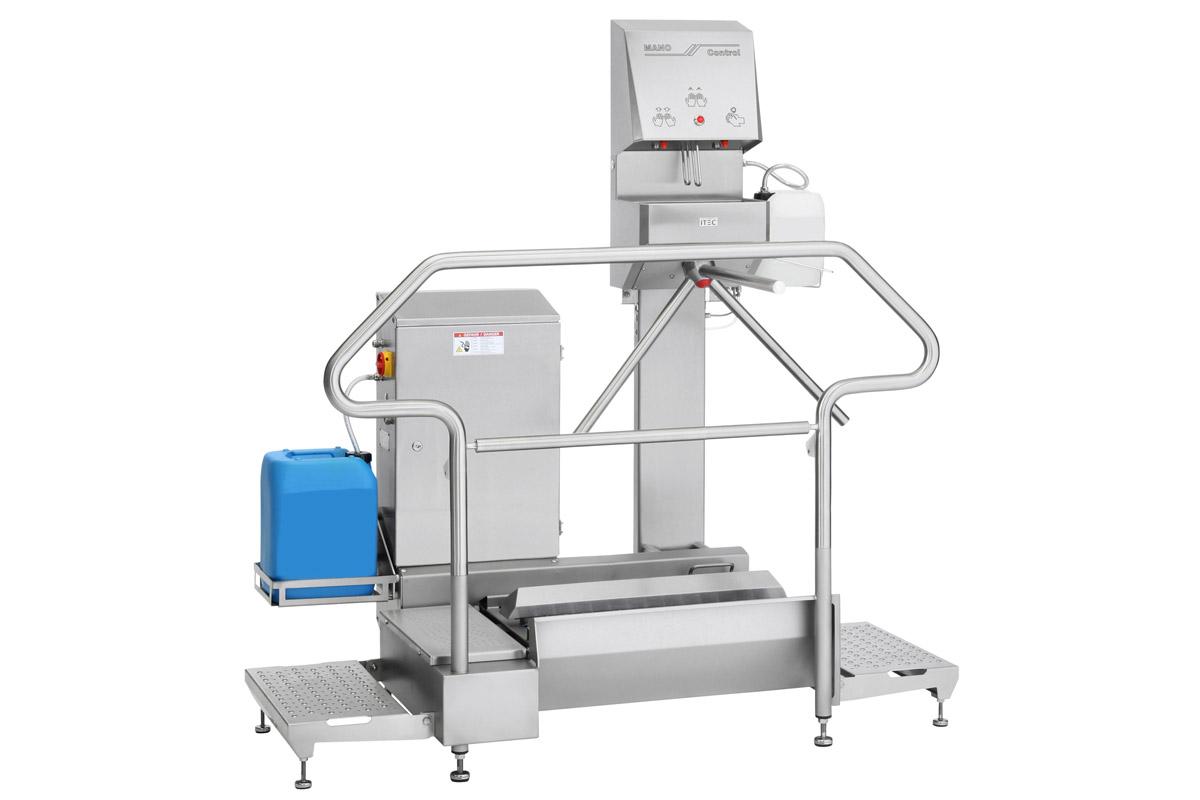 Hygienestation Typ 23876-800 with ManoControl 23745