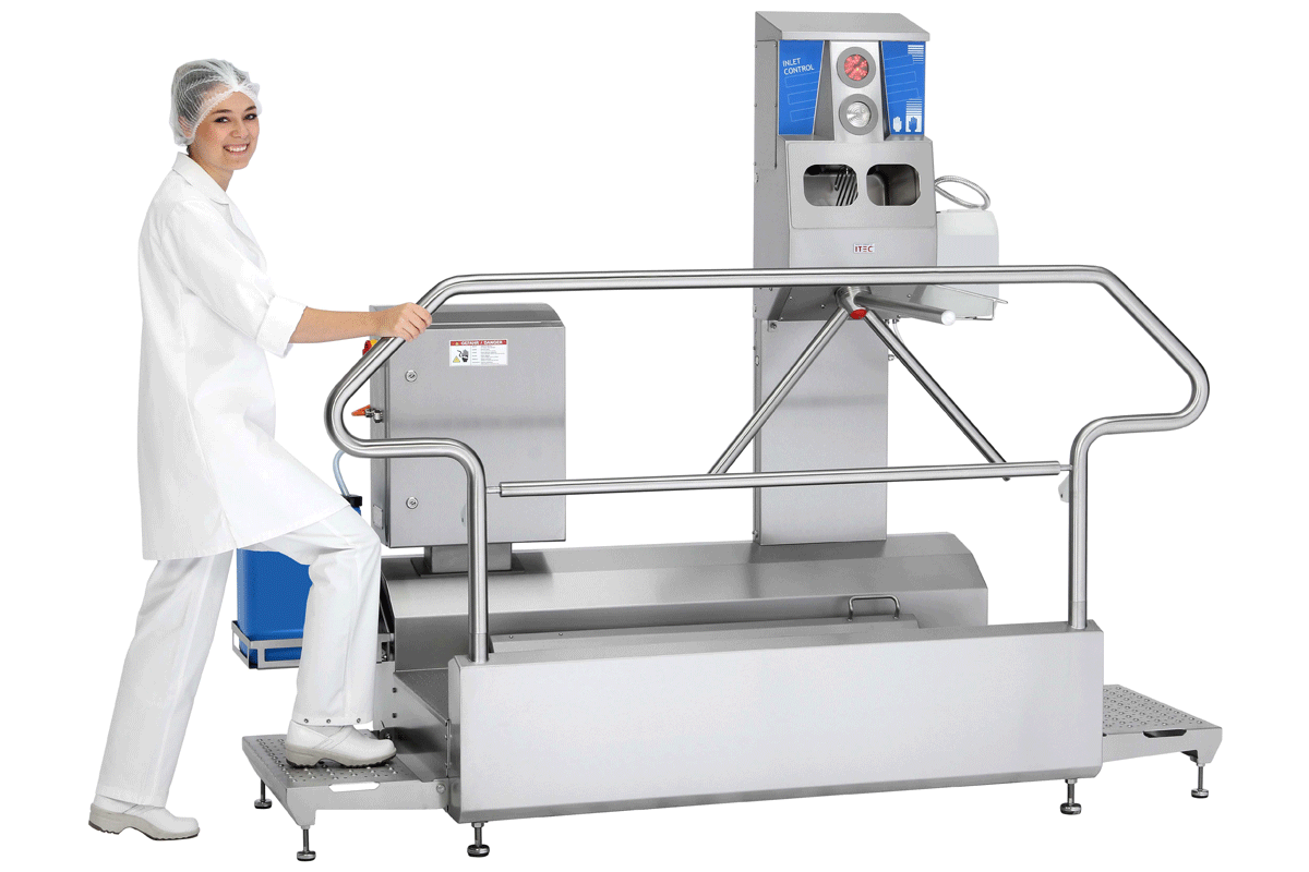 Hygiene station Star Clean Type 23882 with Inlet Control 23740