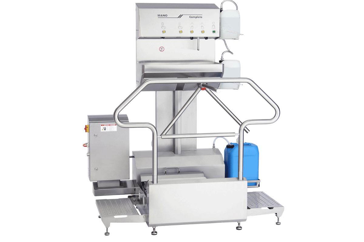 Hygiene station Star Clean Type 23883 with MANO Complete 23775