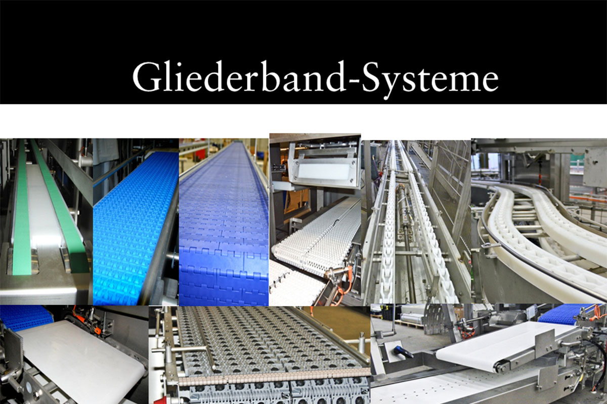 Materials handling technology Link conveyor system