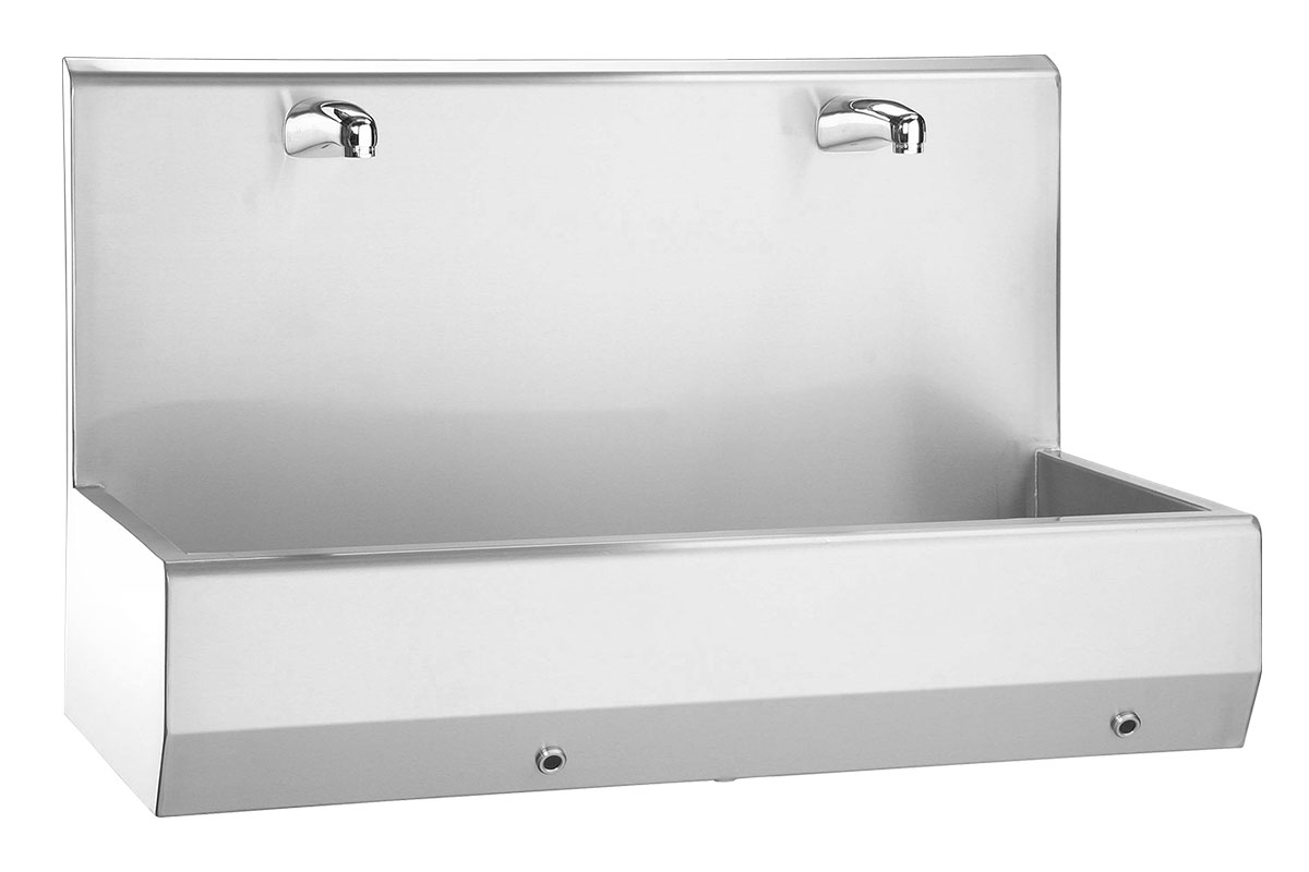 Hand wash trough Type 20520-2 W with sensor control
