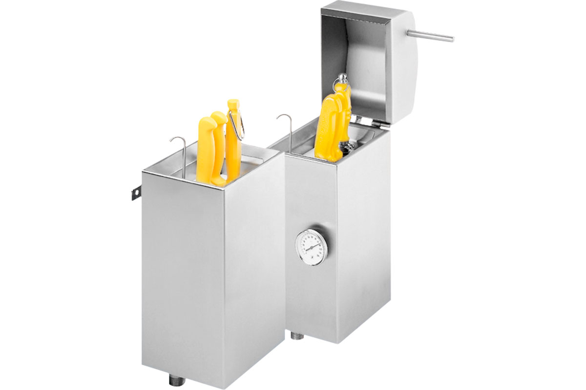 Knife holder cleaning system Sterilisation tank Type 2150