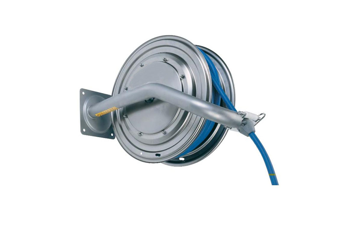 Hose reels and hoses Type 886, retractable