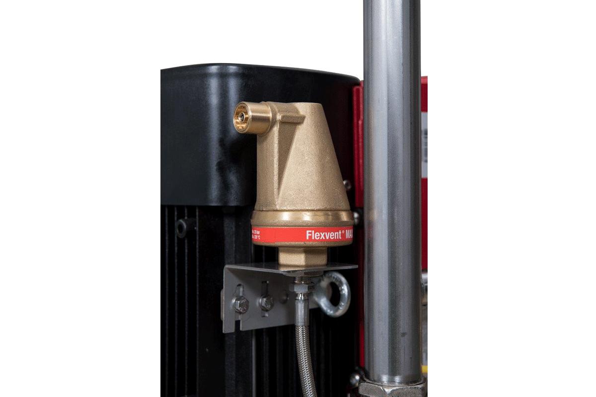Sistema d'incremento della pressione Booster valvola di spurgo automatica