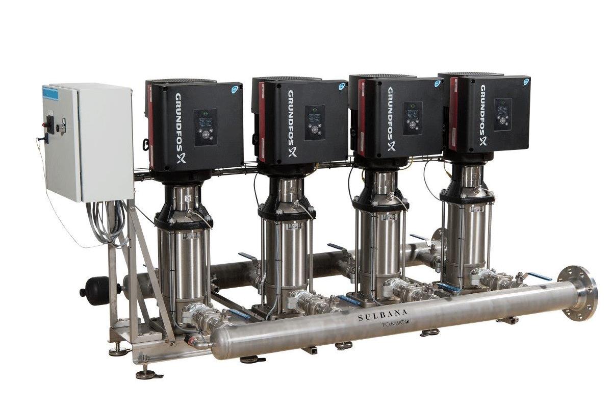 Sistema d'incremento della pressione Booster B 1080-27