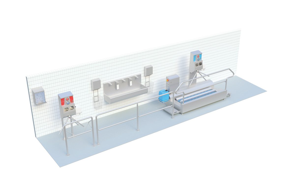 Ensuring Personal Hygiene In The Food Industry During Corona Sulbana Ag Kaserei Hygiene Und Verpackungstechnik